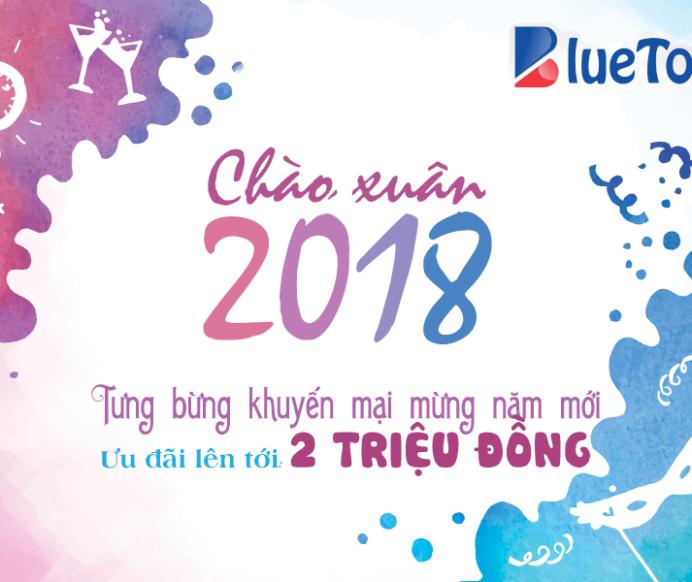 KHUYẾN MẠI CHÀO XUÂN 2018