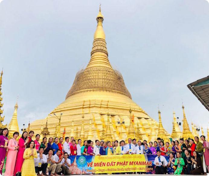Hành trình về miền đất  Phật – Myanmar