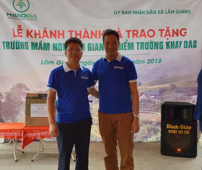Xây Dụng trường học mầm non cho Điểm Trường Khay Dạo – Lâm Giang – Văn Yên – Yên Bái