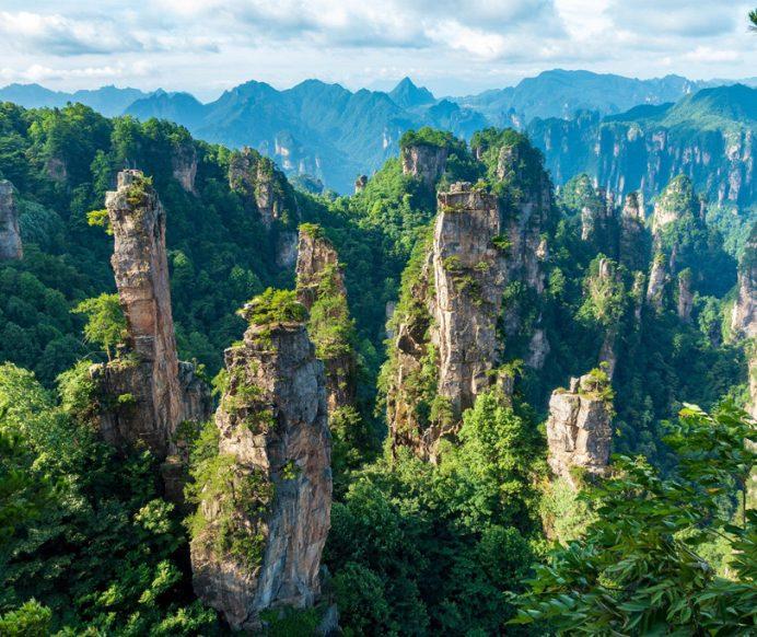 Hành trình để đến cổng trời Thiên Môn Sơn