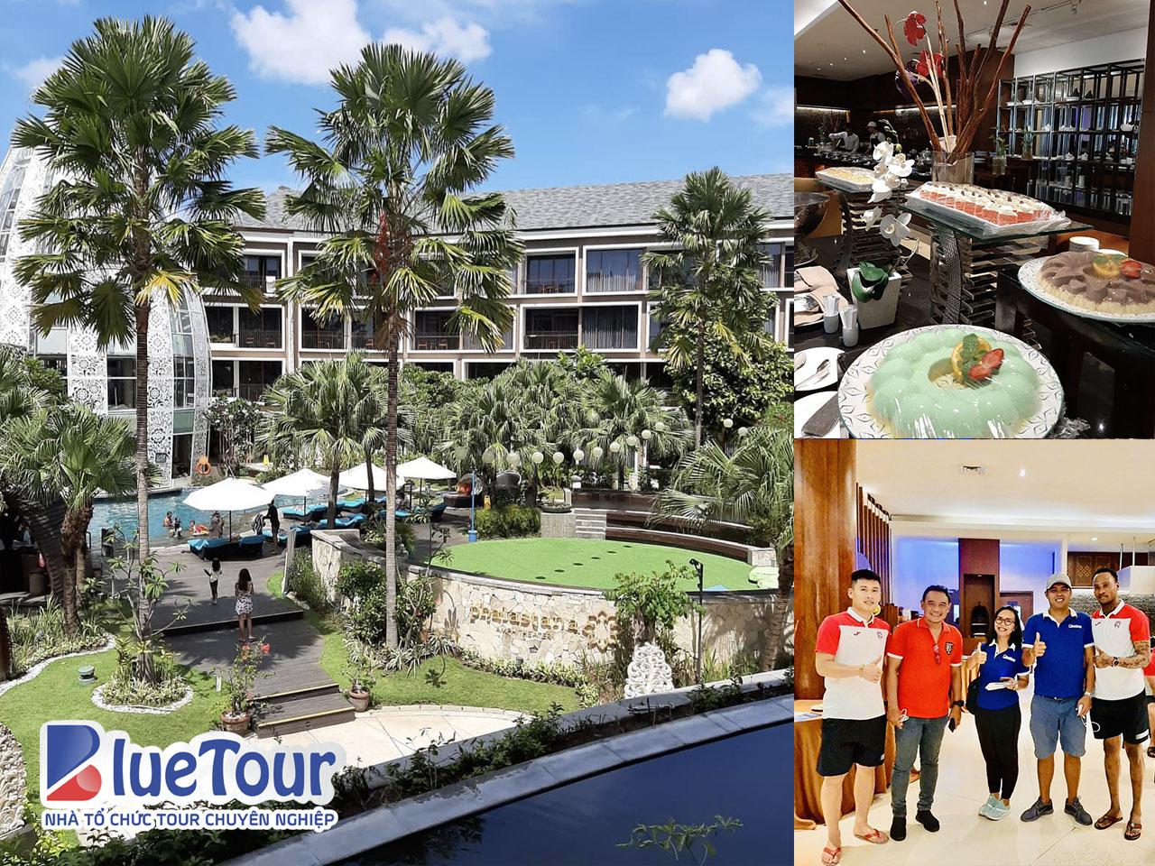 CLB Than Quảng Ninh check-in ở khách sạn 4 sao tại Bali