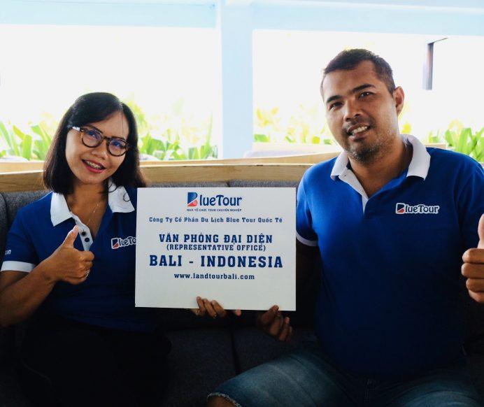 Bluetour mở văn phòng đại diện tại Bali Indonesia