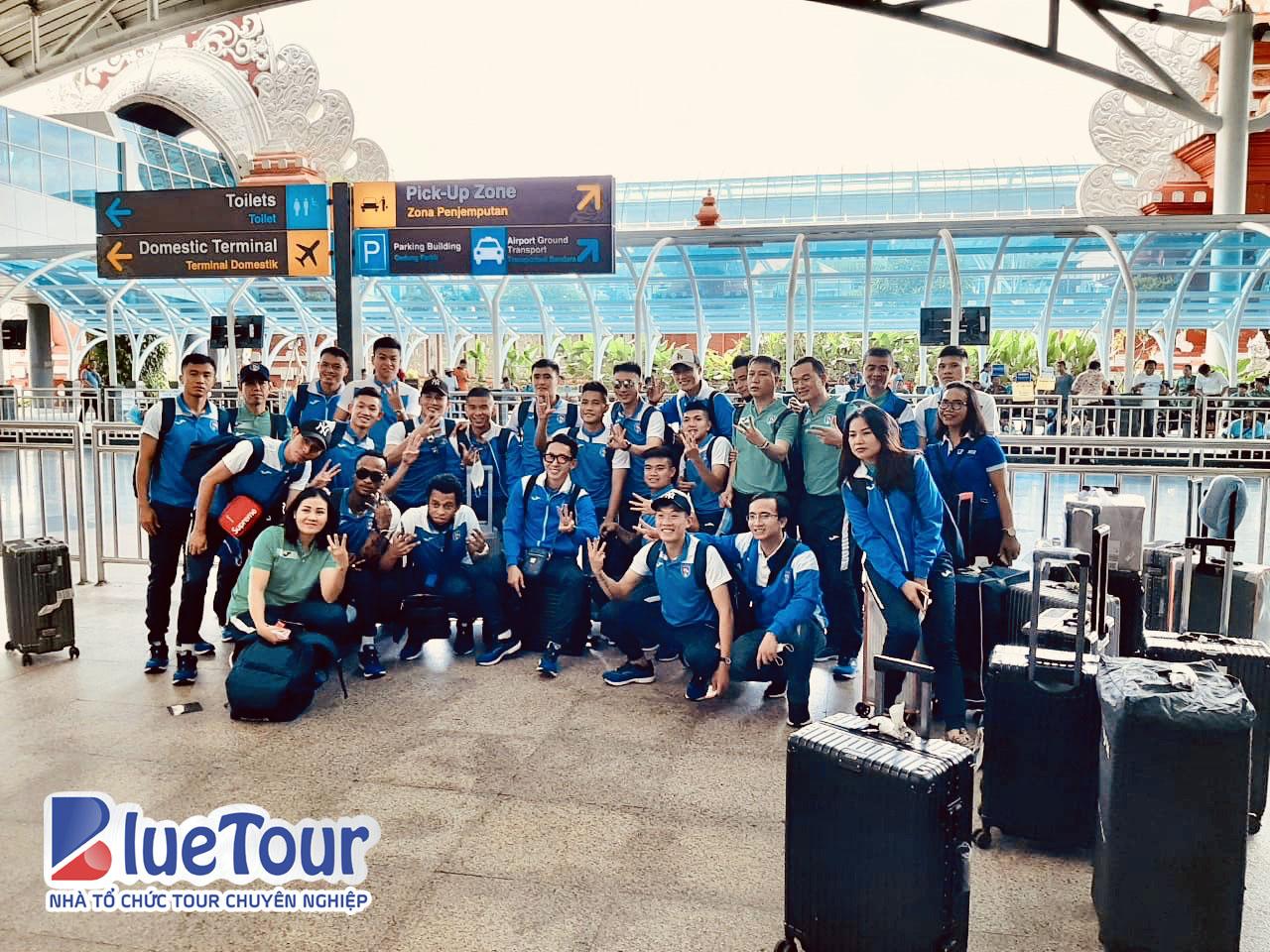 Bluetour đồng hành cùng CLB Than Quảng Ninh, tham dự AFC Cup 2020 tại Bali, Indonesia
