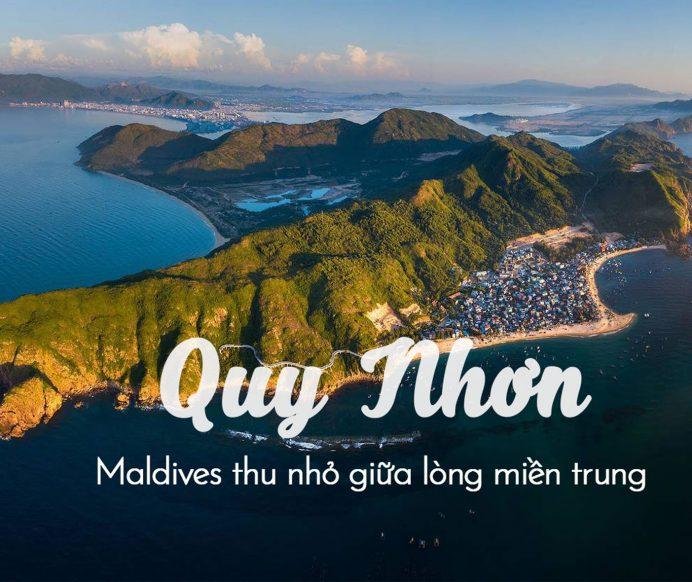 """12 bãi biển Quy Nhơn """"tuyệt đẹp"""" mà tạo hóa ban tặng"""