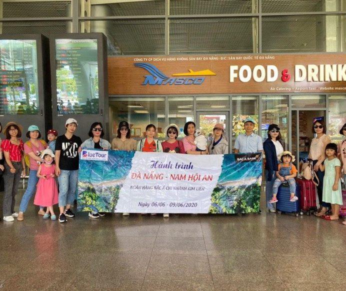 Đoàn Ngân Hàng Bắc Á chi nhánh Kim Liên tham gia tour 4N3Đ Đà Nẵng – Nam Hội An