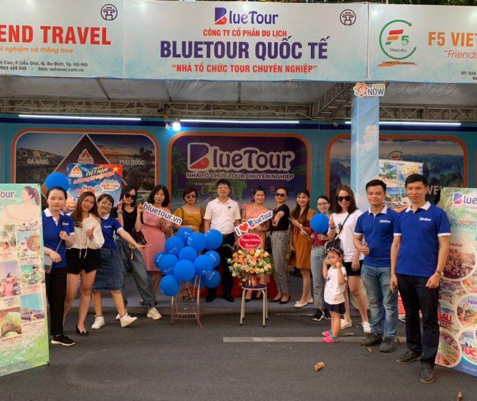 Bluetour tham gia Lễ hội kích cầu du lịch và giới thiệu đồ uống không cồn Hà Nội 26-28/6/2020