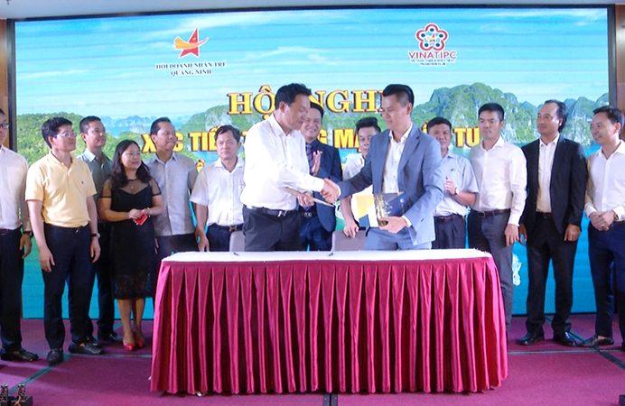 Ông Phạm Hải Bằng – CEO Bluetour International tham gia Hội nghị giao lưu xúc tiến thương mại và đầu tư VINATIPC – Quảng Ninh 2020