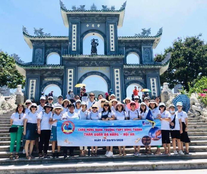 Đoàn Trường THPT Đông Thành tham quan Đà Nẵng – Hội An 19-22/7/2020