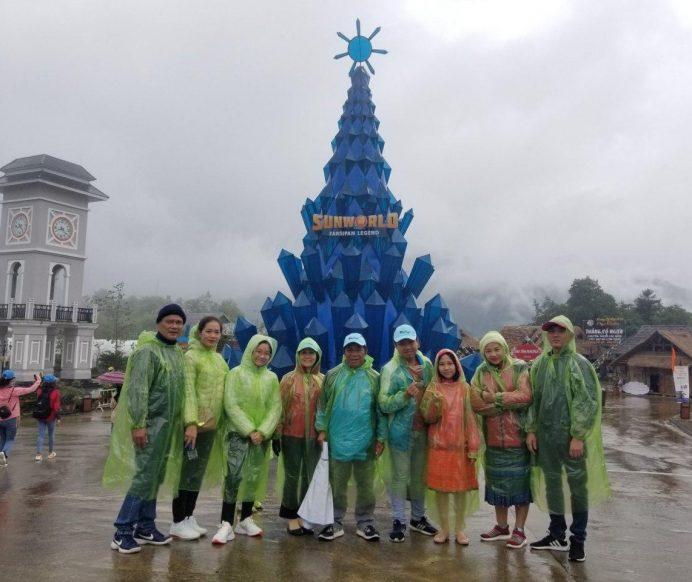 Đoàn khách Sài Gòn tham gia Tour Sapa 3N2Đ và chinh phục đỉnh Phan-xi-păng