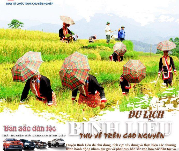 Khảo sát tuyến điểm mới và hành trình du lịch caravan Bình Liêu